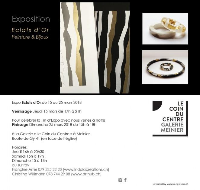 EXPOSITION ECLATS D'OR