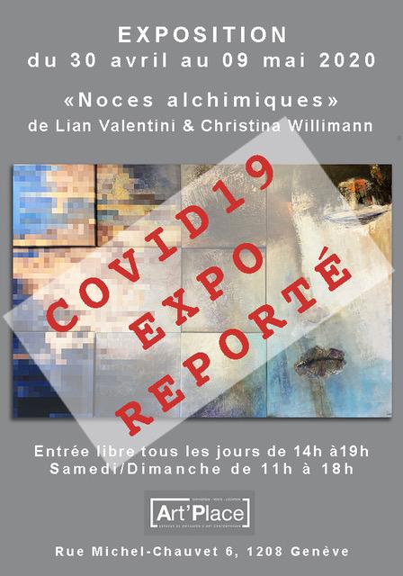 EXPOSITION «Noces alchimiques» du 30 avril au 09 mai 2020